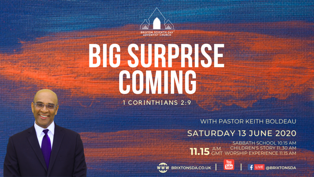 Big Surprise Coming Image