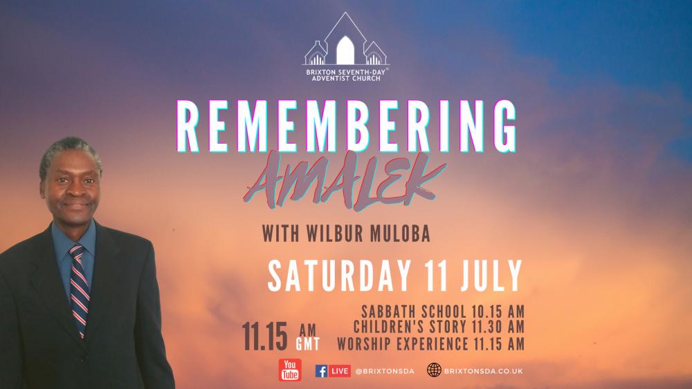 Remembering Amalek Image